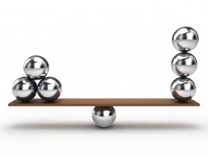 Balance Metallkugel